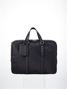 Black nylon bag
