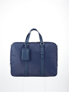 Blue nylon bag