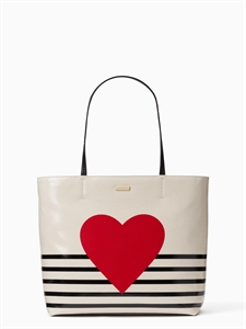 heart stripe hallie