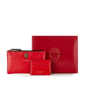 Gift set (Leather Pouch & Card holder)