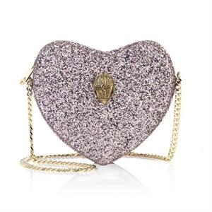 Glitter Heart Crossbody