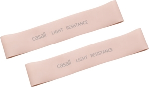 RUBBER BAND LIGHT 2PCS LIGHT PINK
