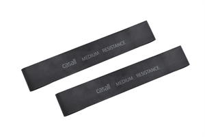 RUBBER BAND MEDIUM 2PCS BLACK