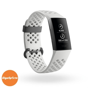 FITBIT CHARGE 3 WHITE GRAPHITE