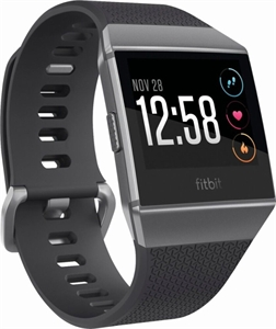 fitbit Ionic Charcoal Smoke Gray