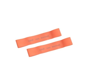 RUBBER BAND HARD 2PCS ORANGE