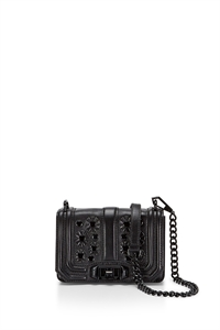 MINI LOVE CROSSBODY BLACK