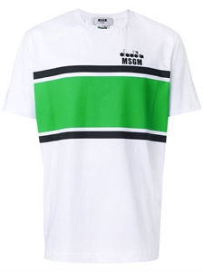 MSGM x DIADORA COLOR BLOCKING T-SHIRT