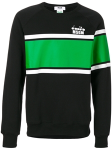 MSGM x DIADORA COLOR BLOCKING SWEATSHIRT
