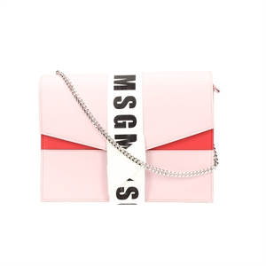 MSG KNOT LOGO CHAIN BAG