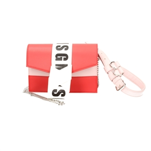 MSG MINI KNOT LOGO CHAIN BAG