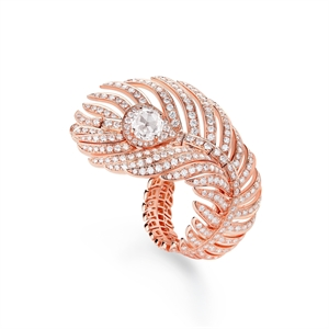 Boucheron Plume de Paon Large Ring