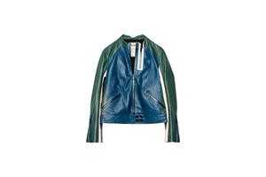 LOOK TRICO CUIR LEATHER JACKET