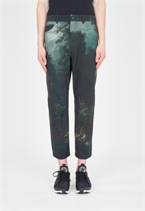 CROPPED RECYCLED TROUSERS