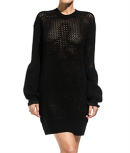 Mesh Knit Dress