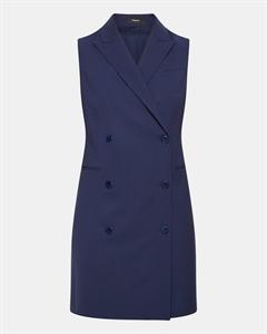Good Wool Sleeveless Blazer Dress