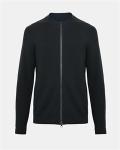ROUND-NECK ZIP JACKET
