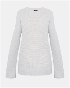Cashmere Bicep Cinched Pullover