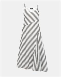 Cotton Striped Spaghetti Day Dress
