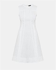 Organic Crunch Linen Modern Tea Dress