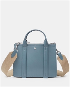 Mini West Bag With Webbing Shoulder Strap In Nappa Leather