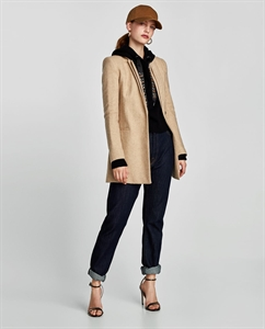 DOUBLE INVERTED LAPEL FROCK COAT