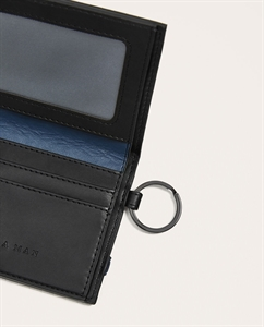 WALLET WITH ELASTIC BAND