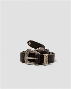 THIN BELT WITH DOUBLE BUCKLE