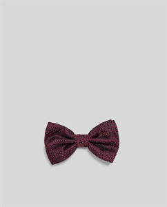 DIAMOND PATTERN BOW TIE