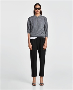 TROUSERS WITH SIDE STRIPE