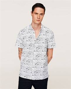PRINTED GRAPHICS OXFORD SHIRT