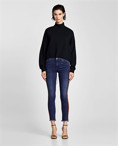 JEANS WITH DOUBLE SIDE STRIPES