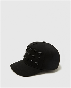CAP WITH STAR STUDS