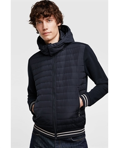 CONTRASTING QUILTED JACKET