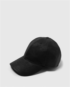 FAUX LEATHER CAP