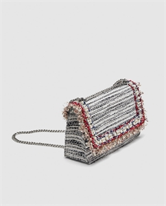 FABRIC CROSSBODY CLUTCH