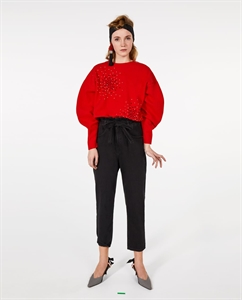 BEJEWELLED SOFT TOUCH SWEATER