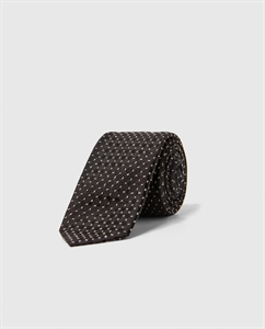 PATTERNED NARROW TIE