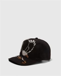 EMBROIDERED EAGLE CAP