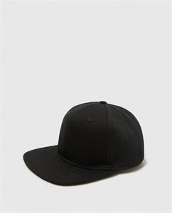 PLAIN CAP WITH FLAT VISOR