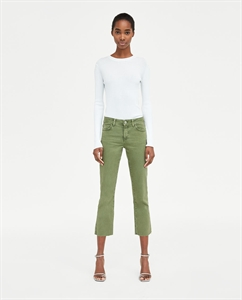 Z1975 STRAIGHT CROPPED JEANS
