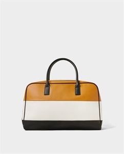 COLOUR BLOCK BOWLING BAG