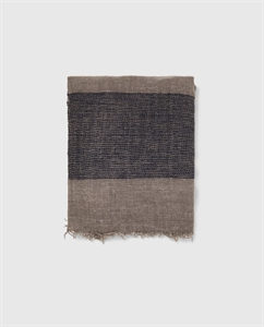 STRIPED TEXTURED WEAVE SCARF