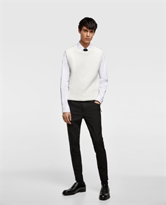 SUPER SKINNY TROUSERS WITH ZIP