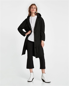 LONG PARKA WITH ZIP