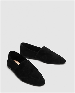 BRAIDED LEATHER LOAFERS