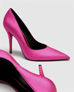 FUCHSIA HIGH HEEL COURT SHOES
