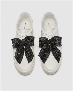 SNEAKERS WITH BOW DETAIL
