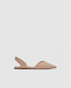 BASIC FLAT SLINGBACK SHOES