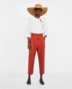 BUTTON WAIST TROUSERS